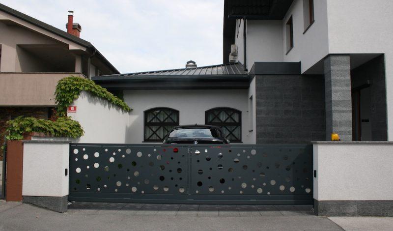 Dvoriscna vrata in ograje